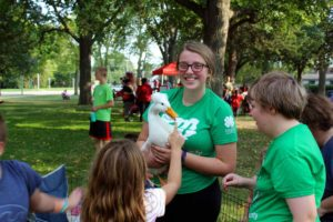 4H exhibitor at Back to School Bash