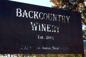 Backcountry Winery