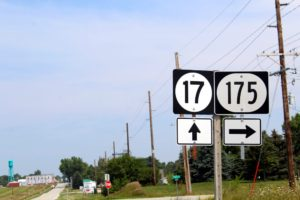 Highways 175 & 17 intersection