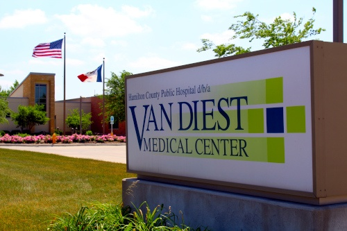 Van Diest Medical Center sign